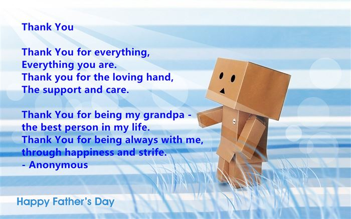 Meaningful Happy Father's Day Poems For Grandpa