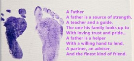 Best Happy Father's Day Poems From Baby Footprints