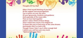 Best Happy Father's Day Poems From Baby Handprints