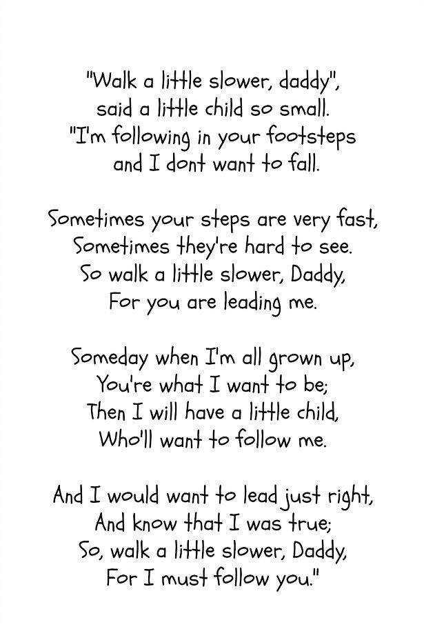 Best Happy Father's Day Poems From Children With Footprints