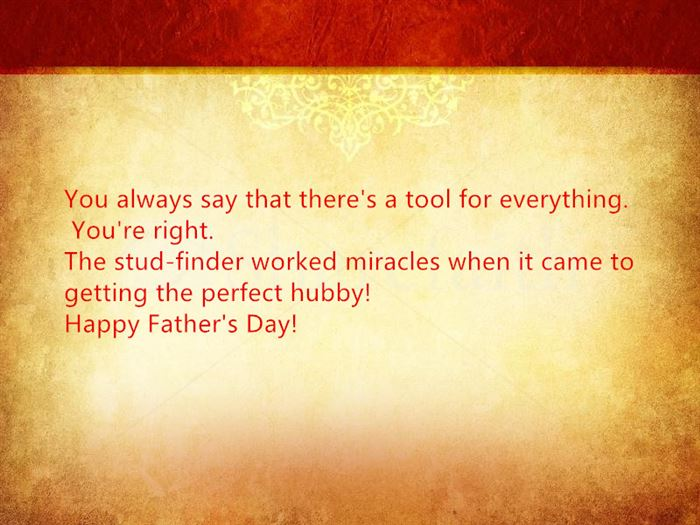 Unique Happy Father's Day Quotes From Wife
