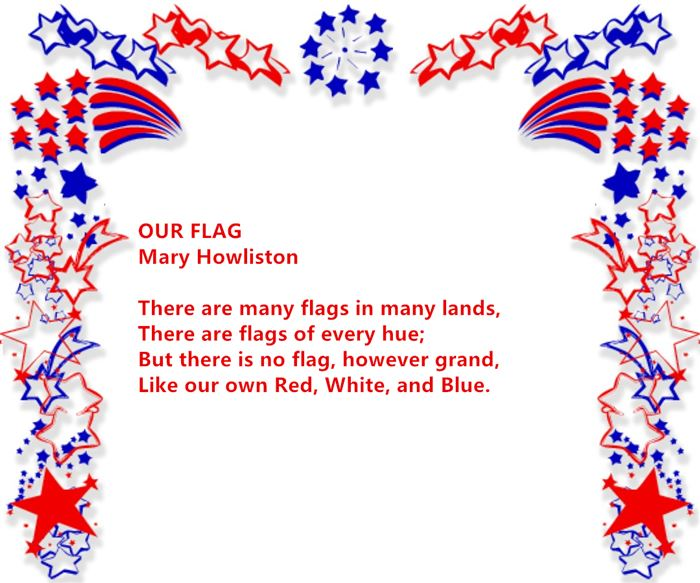 Free Armed Forces Happy Flag Day Poems For Children