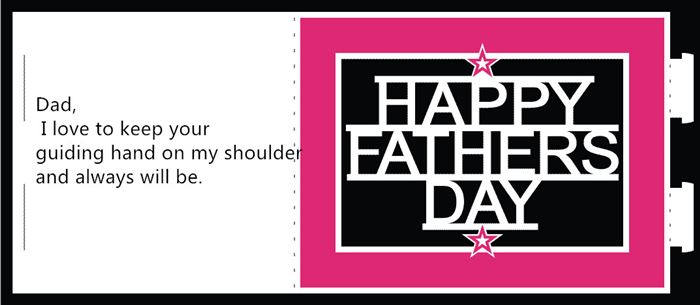 Unique Happy Father's Day Card Sayings From Baby