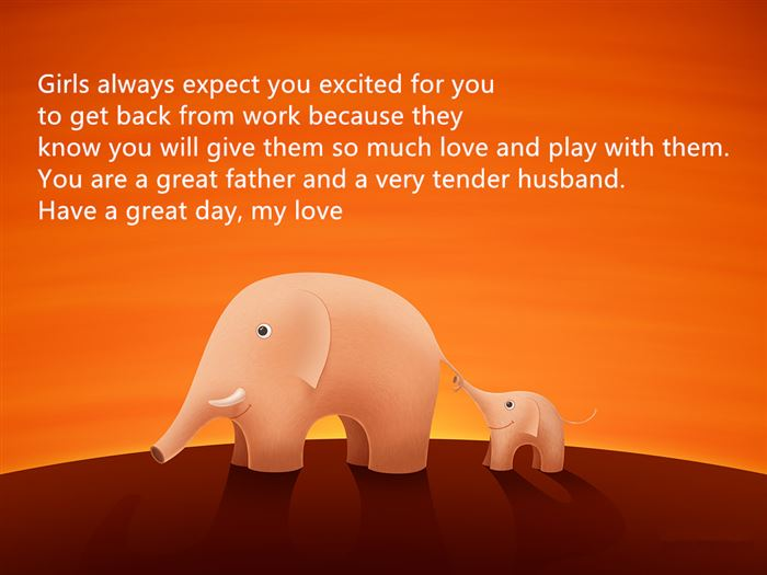 Free Short Happy Father's Day Messages From Wife To Husbands