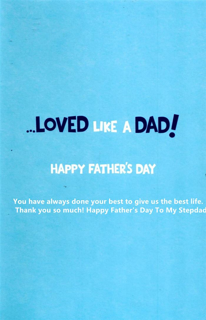 Famous Happy Father's Day Quotes From Daughter To Stepfather