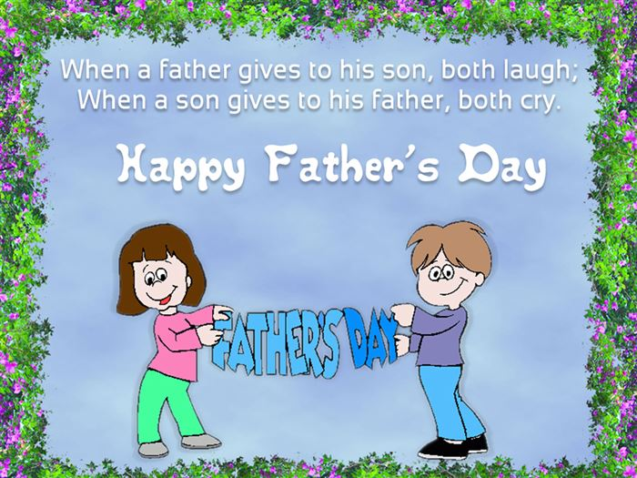 Best Funny Happy Father's Day Quotes From Kids