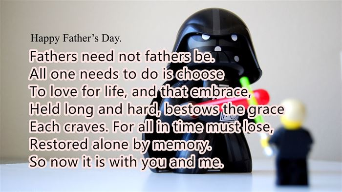 Best Inspirational Short Happy Father's Day Poems From Kids
