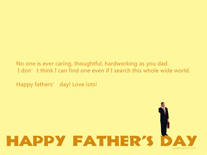 Meaningful Happy Father's Day Sayings From Daughter For Cards