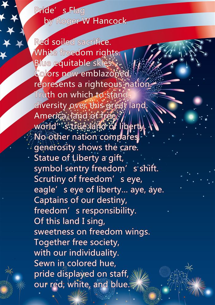 Famous Happy Flag Day Poems For Elementary