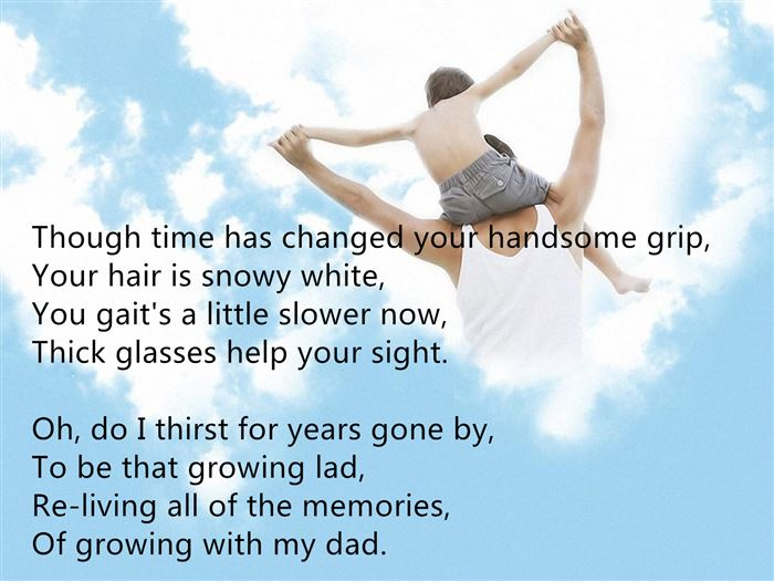 Short Free Happy Father's Day Poems From Daughter