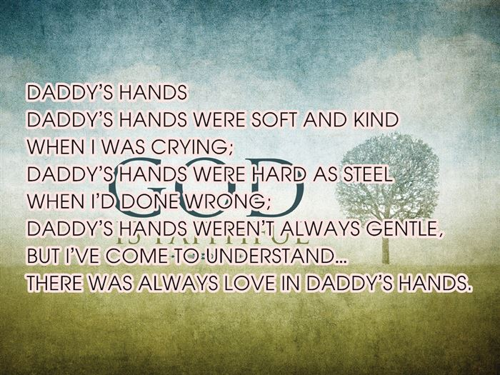 Free Short Happy Father's Day Poems From Son