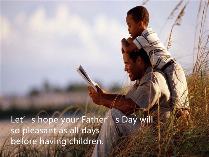 Best Funny Happy Father's Day Quotes From Wife