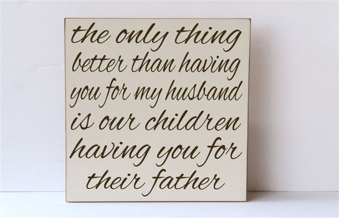 Romantic Happy Father's Day Quotes From Wife To Husband