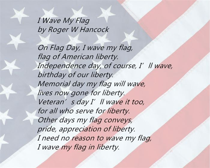 Top Happy Flag Day Poems For First Grade