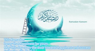 Beautiful Ramadan Kareem Greeting Card