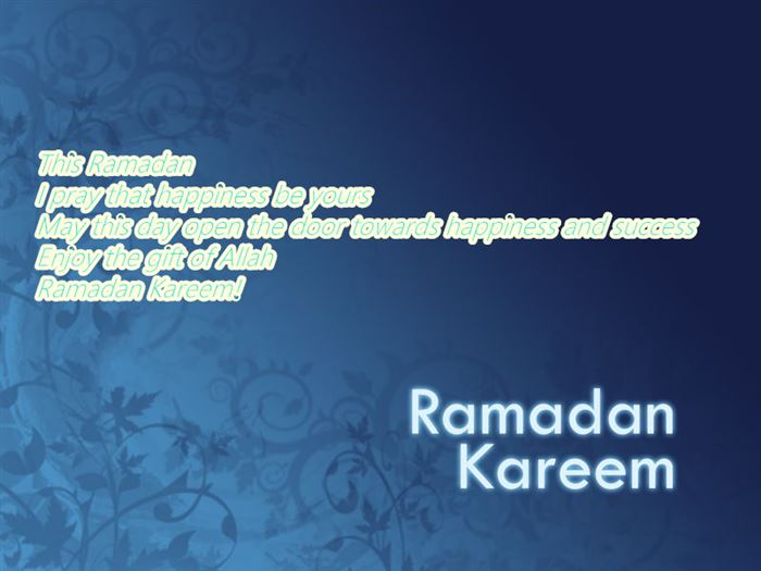 Meaningful Greeting Messages For Ramadan Kareem