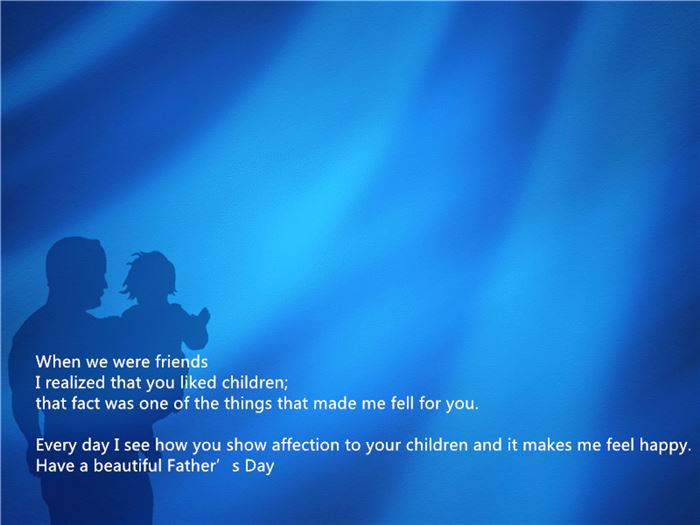 Inspirational Happy Father's Day Wishes For Husbands