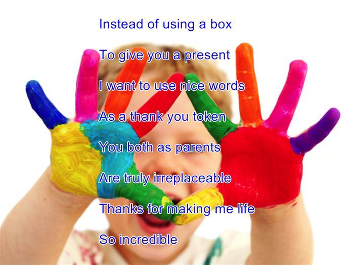 Free Happy Parents Day Poems For Kids Handprints