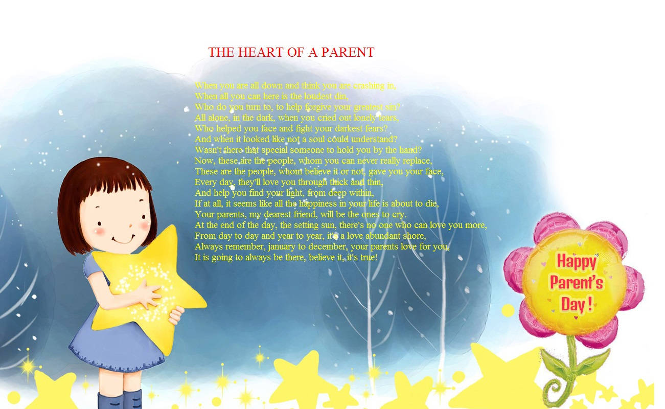 Best Happy Parents Day Poems From Daughter