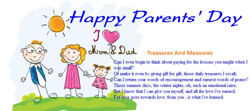 Meaningful Happy Parents Day Poems From Daughter
