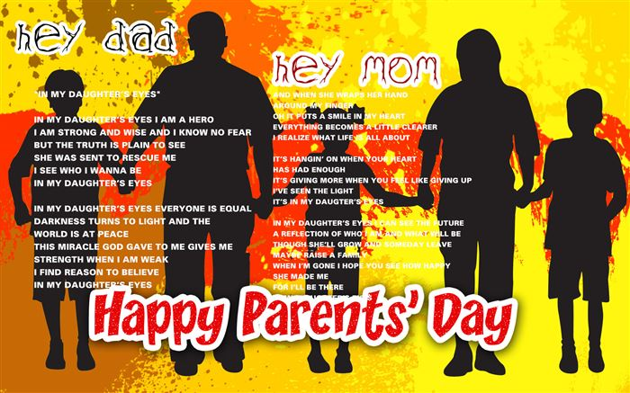 Inspirational Happy Parents Day Songs From Preschoolers