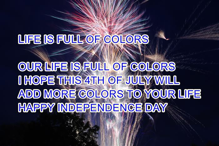 Beautiful Happy USA Independence Day Messages Pictures