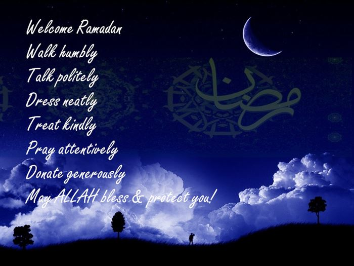 Short Ramadan Greeting Text In English