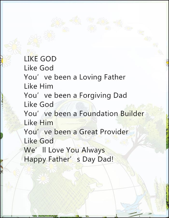 Meaningful Christian Happy Father's Day Poems For Husbands