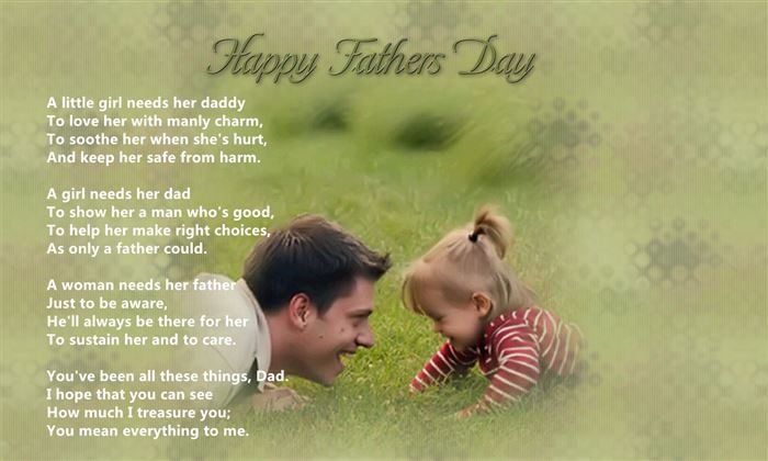 Best Free Christian Happy Father's Day Poems From Daughter