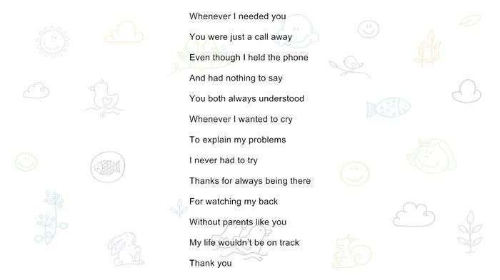 Meaningful Happy Parents Day Poems From Toddlers