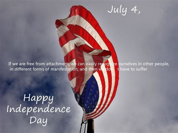 Famous Happy USA Independence Day Greetings SMS