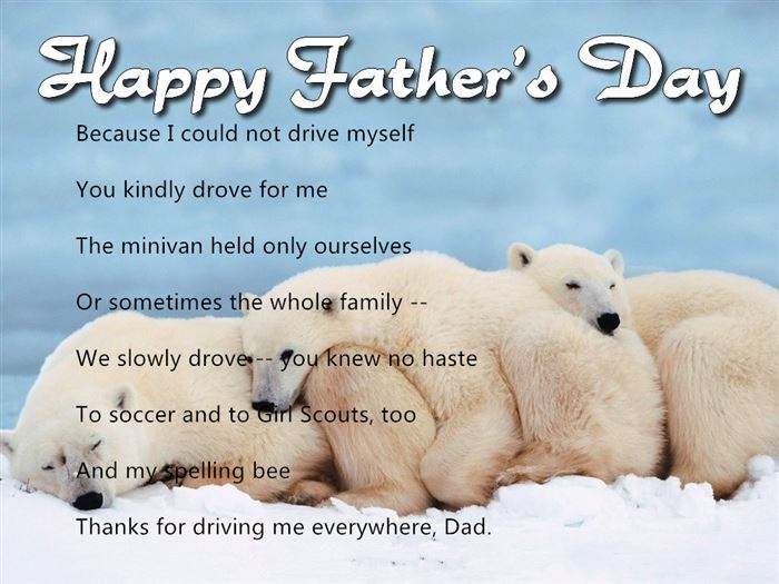 Meaning Short Happy Father's Day Poems From Preschoolers