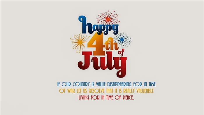 Free USA Independence Day Cards Messages