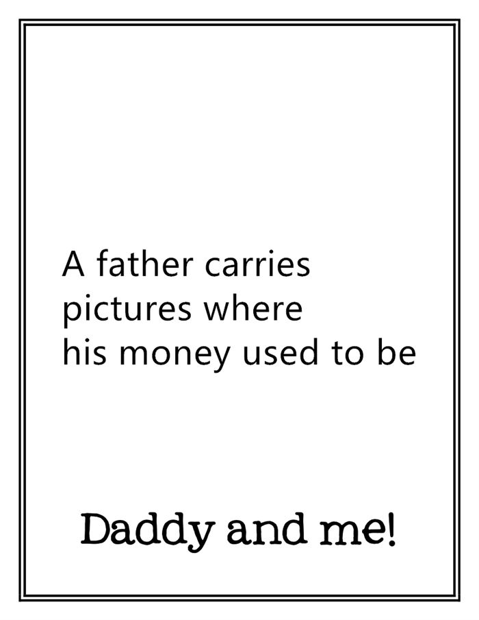 Funny Free Happy Father's Day Card Sayings From Son