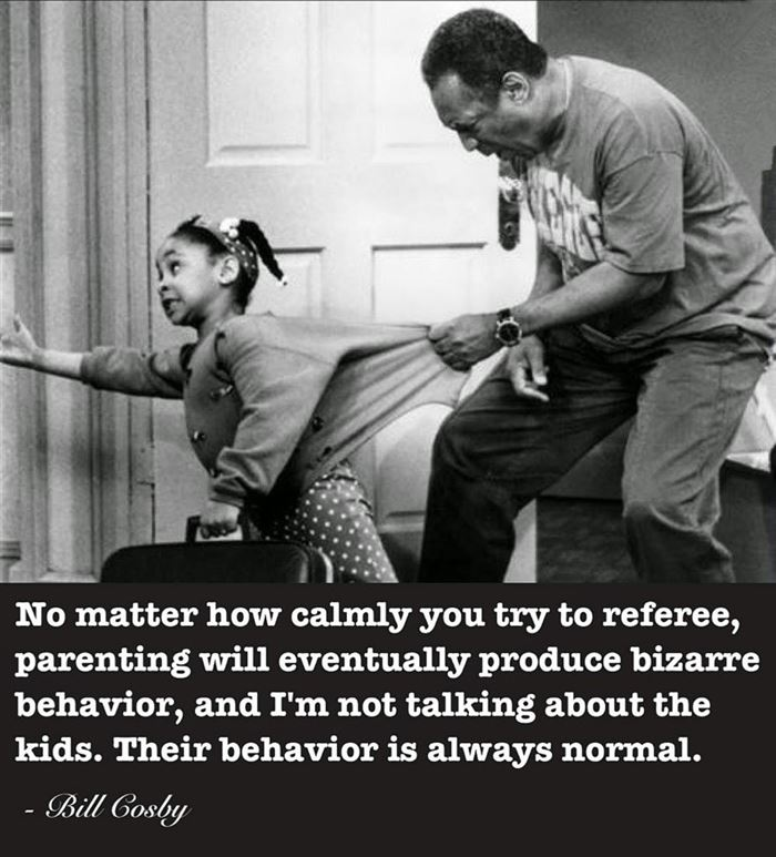 Famous Funny Happy Father's Day Quotes By Bill Cosby
