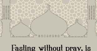 Happy Ramadan Fasting Without Praying