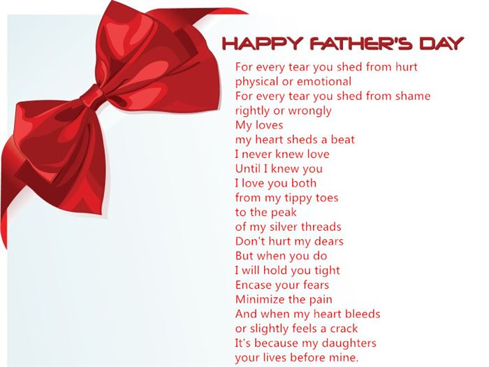 Best Inspirational Happy Father's Day Poems From Daughter