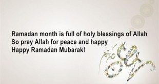 Inspirational Ramadan Wishes Quotes In English
