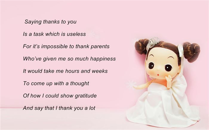 Famous Short Happy Parents Day Poems For Kids