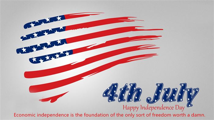 Meaningful USA Independence Day Message Greeting