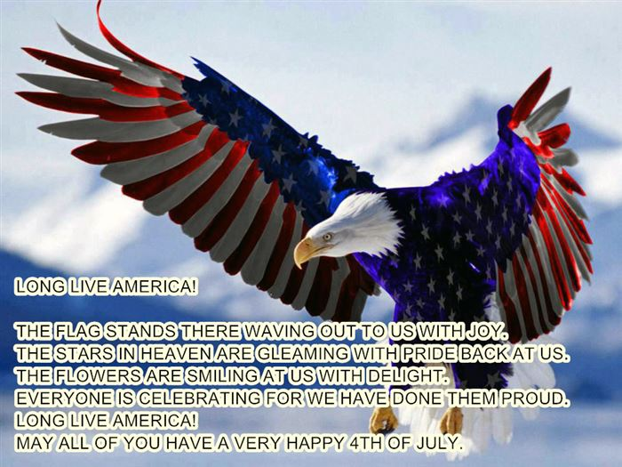 Inspirational USA Independence Day SMS Text Messages
