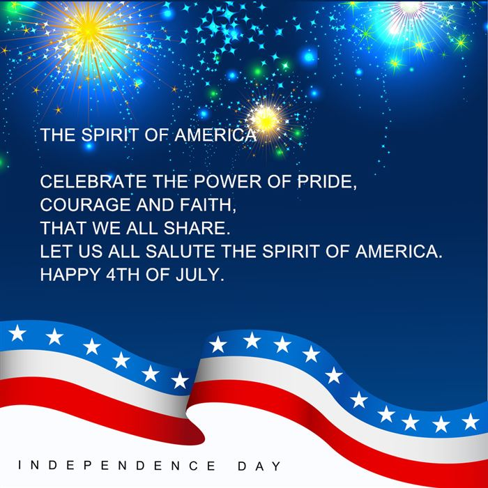 Meaningful USA Independence Day SMS Text Messages