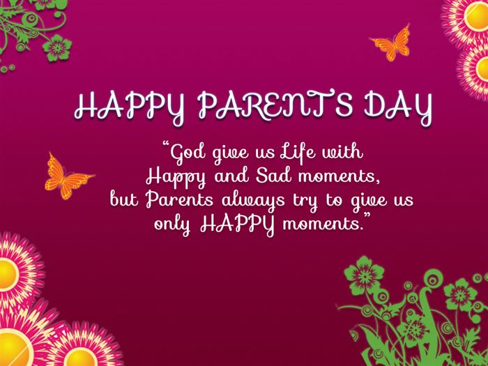 Meaningful Happy Parents Day SMS Text Messages