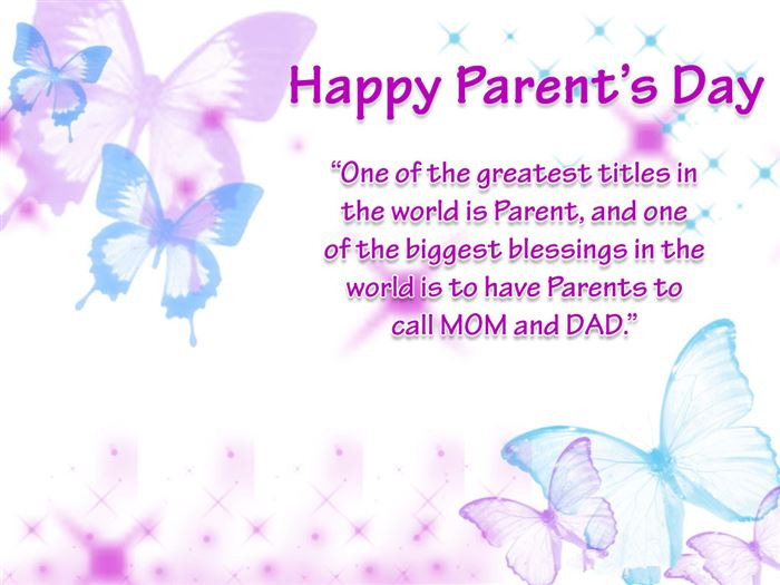 Unique Happy Parents Day SMS Text Messages