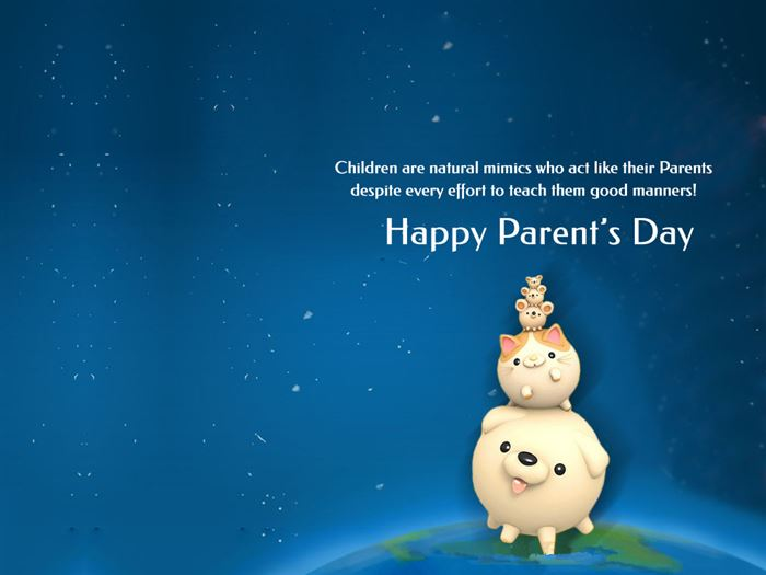 Inspirational Happy Parents Day Wishes Quotes