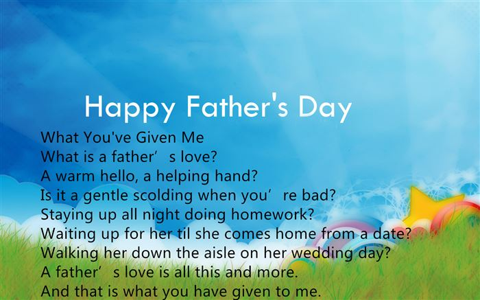 Best Poems For Father's Day From Daughters Free