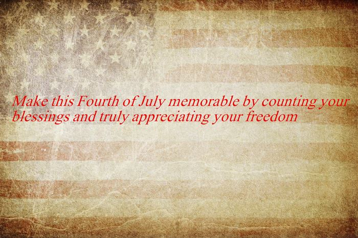 Meaningful USA Independence Day Wishes Messages