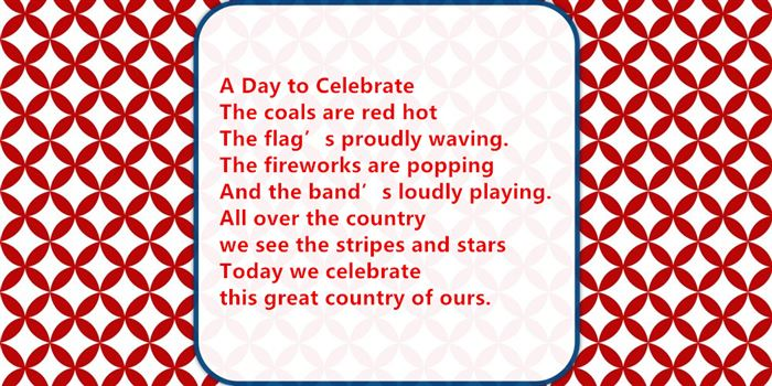 Best Free USA Independence Day Poems For Children