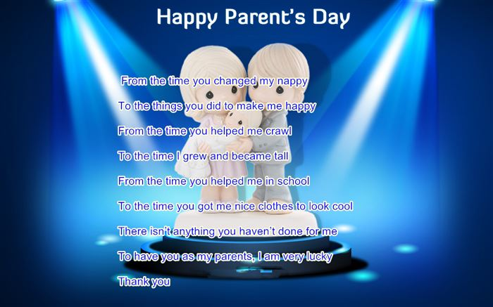 Free Meaningful Christian Happy Parents Day Poems