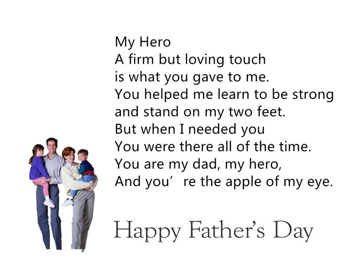 Meaningful Poems About Father's Day From Daughter